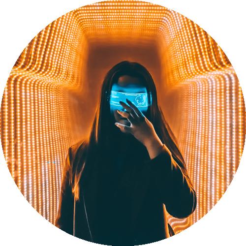 Virtual resources girl
